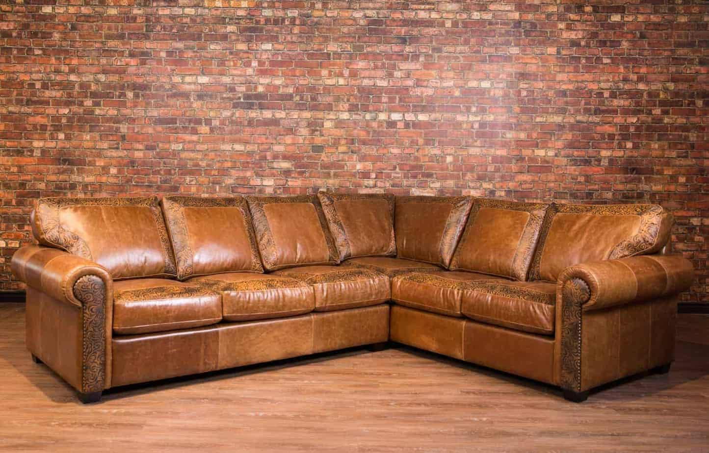 The Old West Limited Edition Leather Sectional Canada S