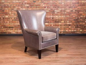 Vineyard leather chair