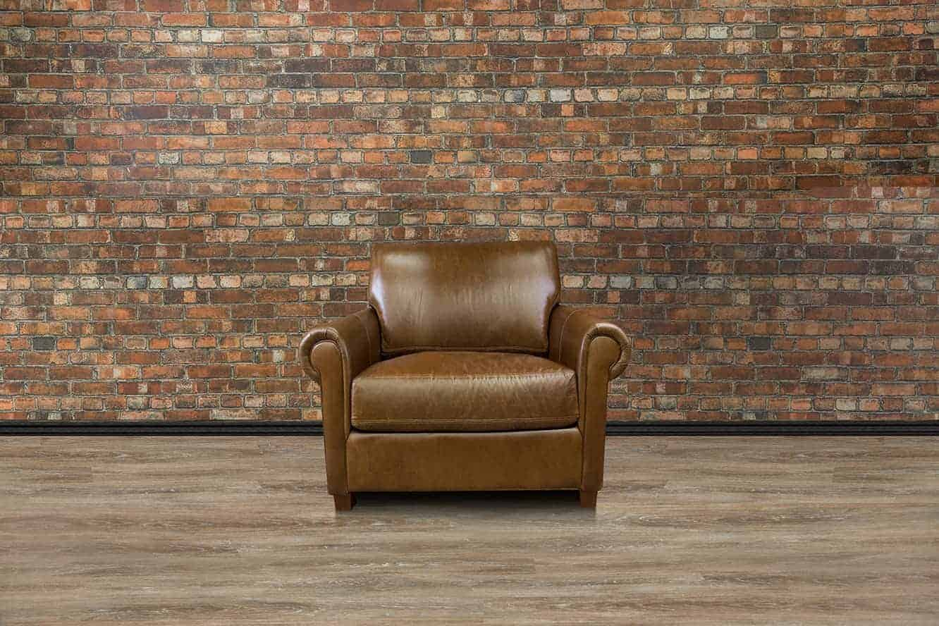Leather Furniture Traveler Collection: The Lancaster Leather Chair Collection