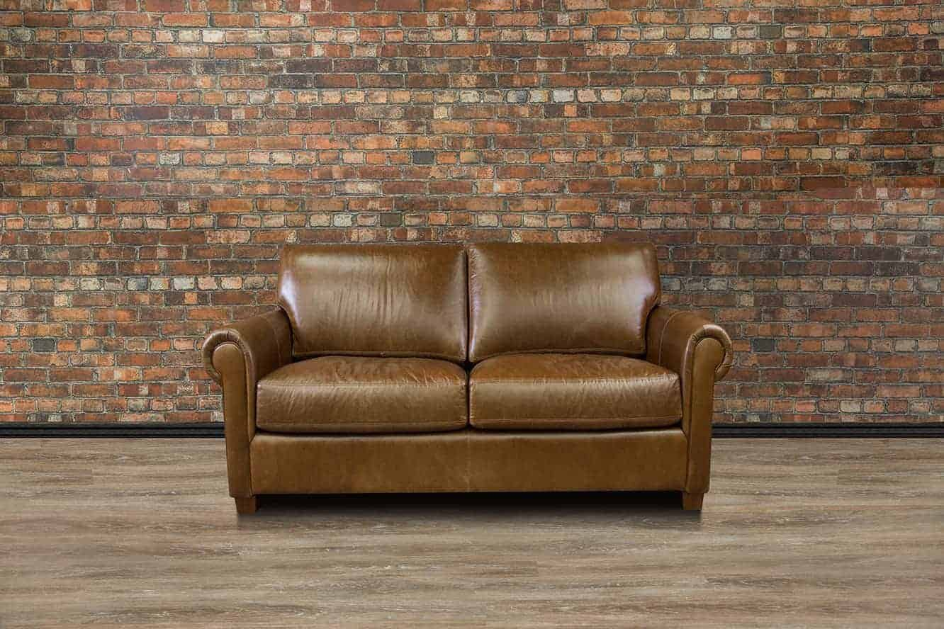 Leather Furniture Traveler Collection: Lancaster Collection Loveseat Deep Seat Collection