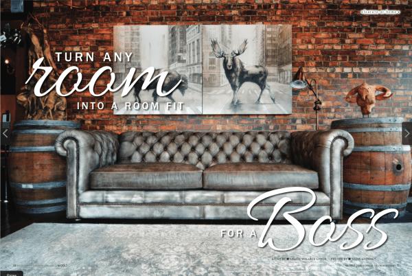windsor tuft leather sofa