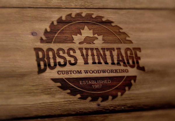 boss vintage woodcraft