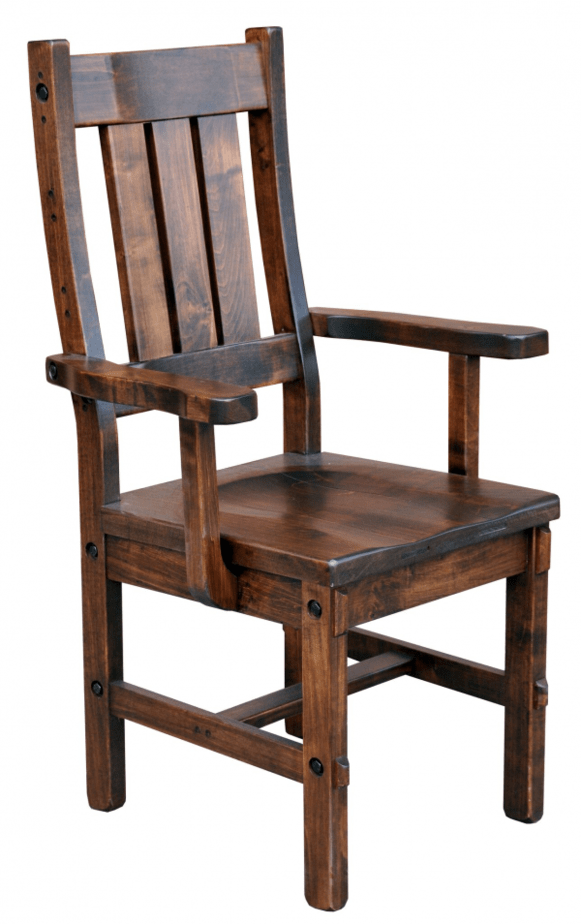 frontiersmen arm chair