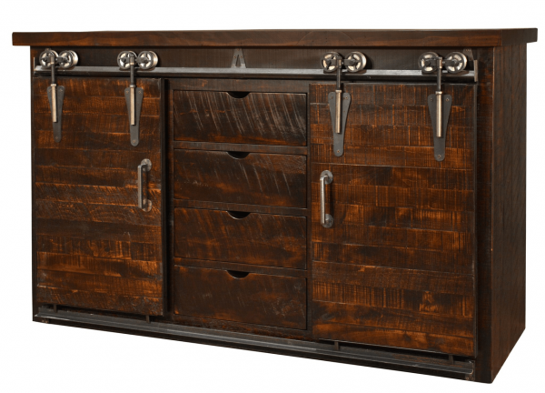 barndoor sideboard large