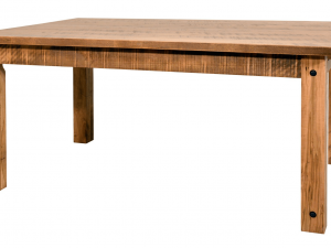 Solid Wood Algonquin Table no leaves