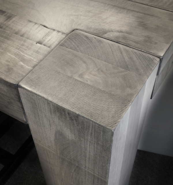rustic tundra dining table