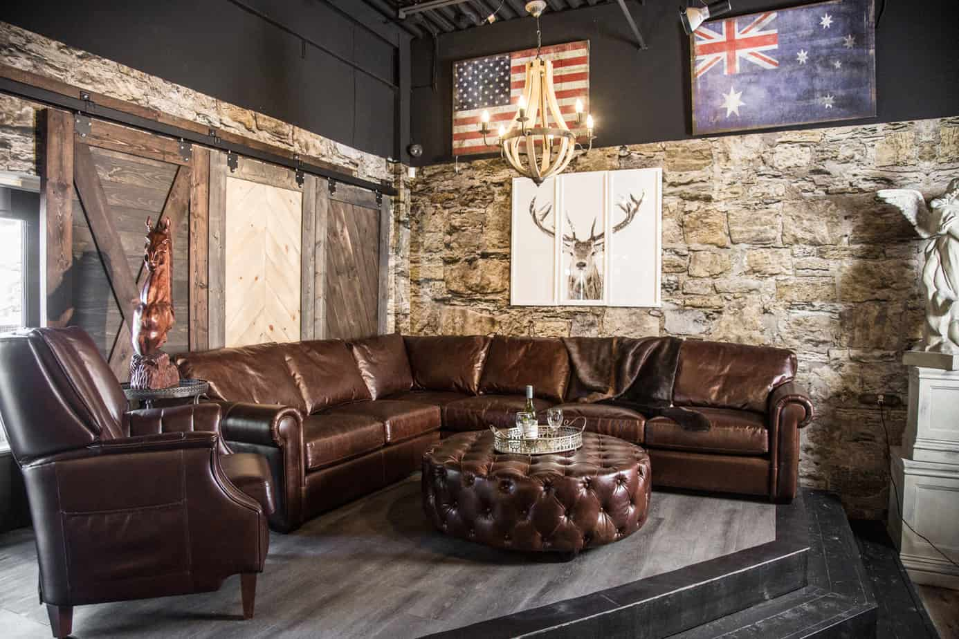 Canadas boss leather furniture carries a broad selection of leather sectional sofas including modern traditional and transitional genuine top grain