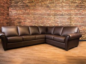 bella leather sectionals