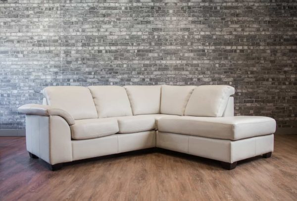 canadiana leather sectionals