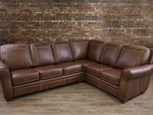 humber leather sectionals