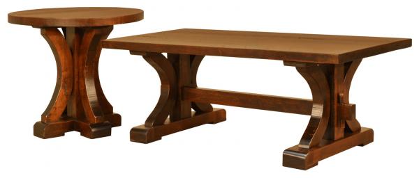 Pioneer coffee table