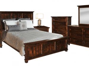 rustic algora wood bedroom furniture