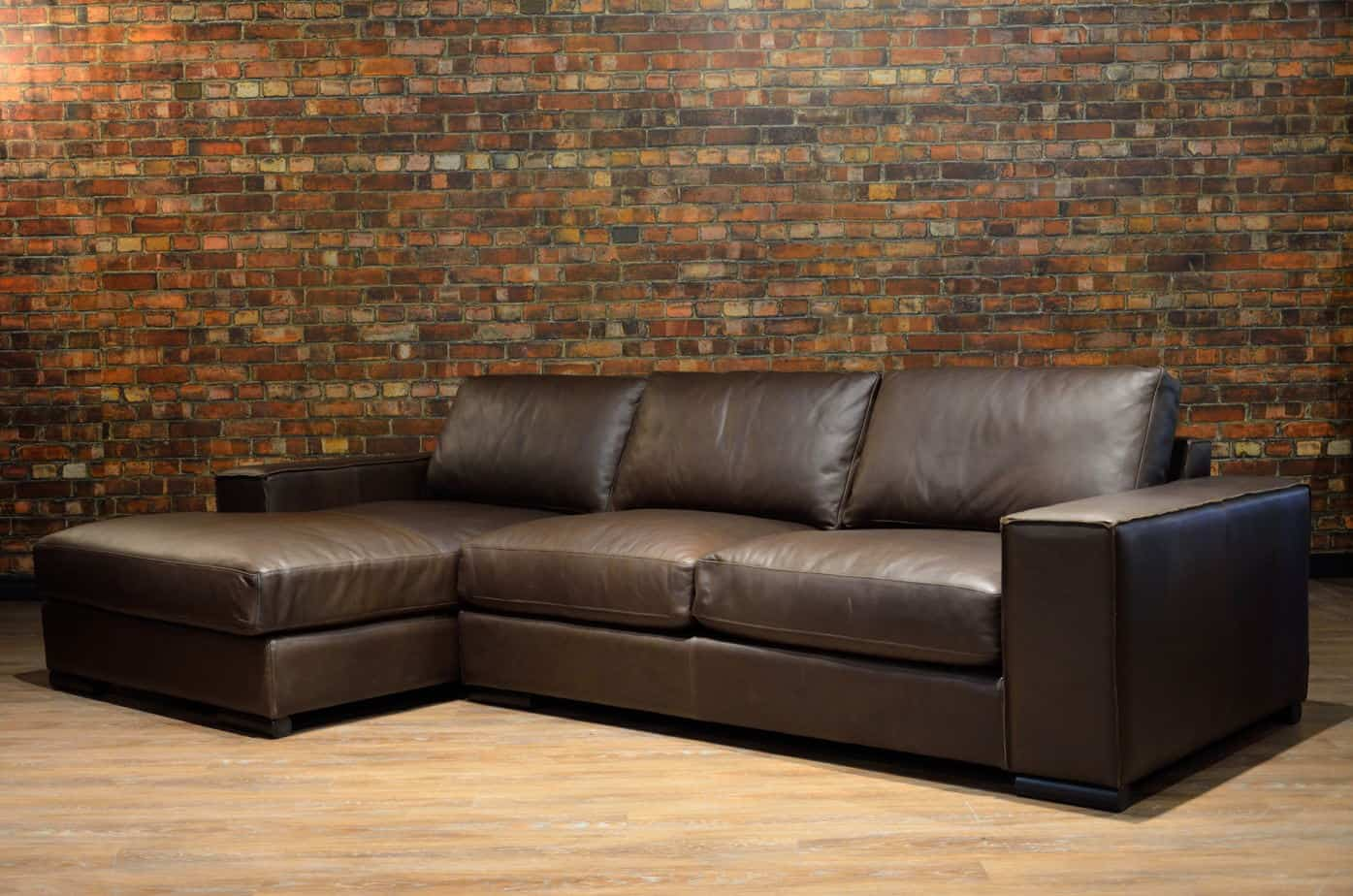 The Iroquois Leather Sectional Lhc Canada S Boss Leather