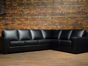 mathew leather sectionals