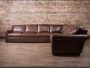 winchesterlarge leather sectionals