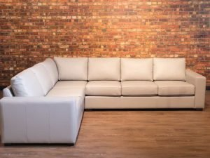 four seasons leather sectional