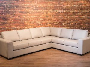 Four seasons leather sectionals