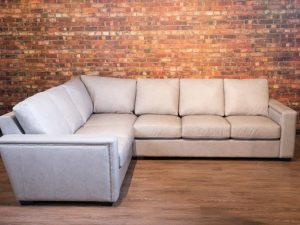 friuli leather sectional