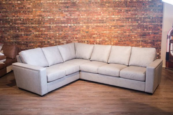 frail leather sectionals