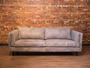 Artisan leather sofa