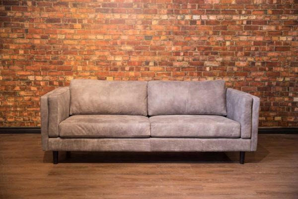 Artisan leather sofa