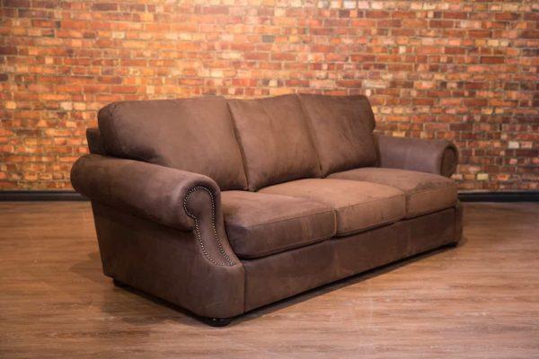 buffalo bill leather sofa
