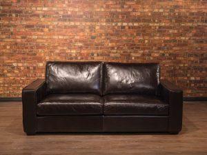 Maximilla live edge sofa