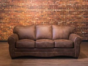 The Bel air leather sofa