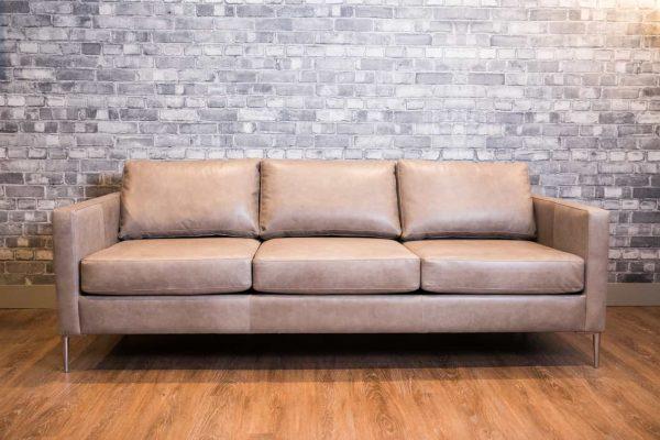 Luca leather sofa