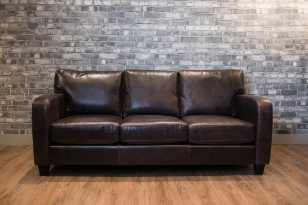 the Lake Como leather sofa