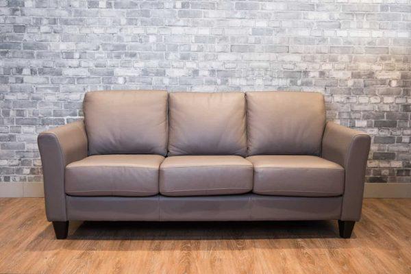 Metro 3 leather sofa
