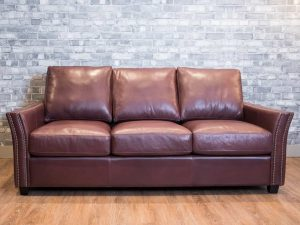 the Chattanooga leather sofa