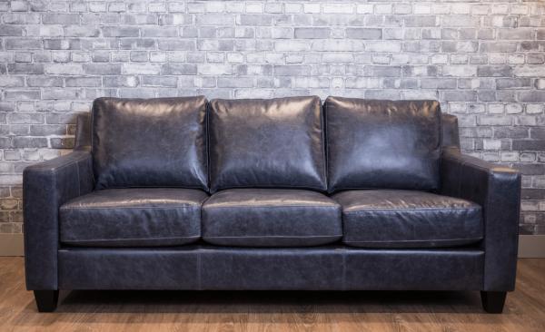 pompeii leather sofa