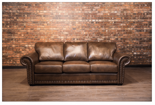 the wyatt Earp leather sofa