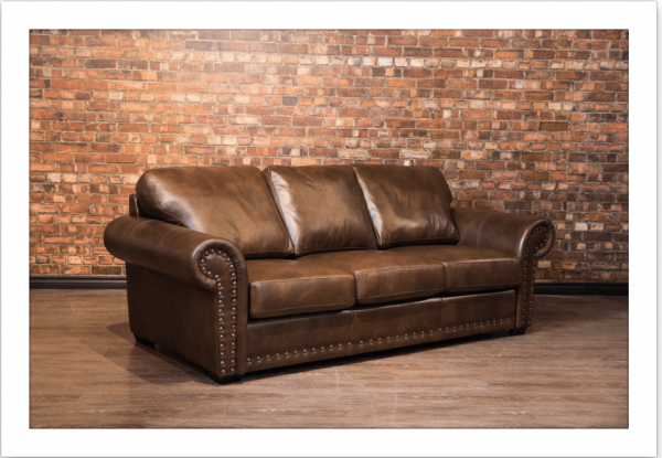 wyatt earp leather sofa