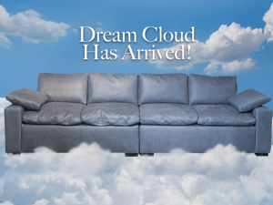 dream cloud leather sofa
