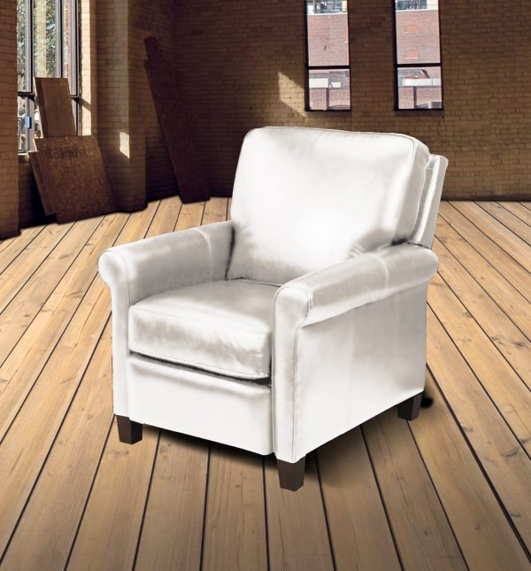 chicago reclining leather chair