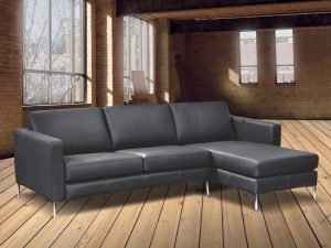 Japlin leather sofas chaise
