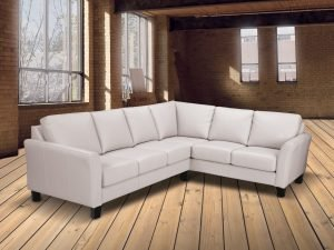 claymore leather sectionals