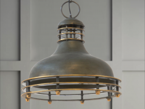 Art Deco pendant Light
