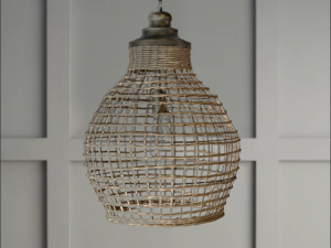 Basket Weave Lighting