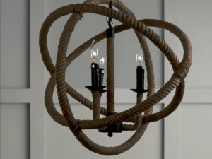 Rope Sphere Light