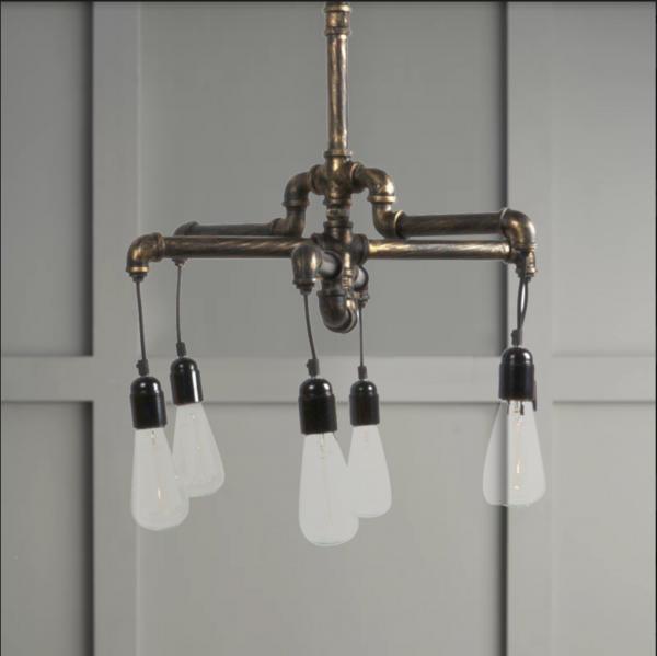 Industrial Pipe lighting
