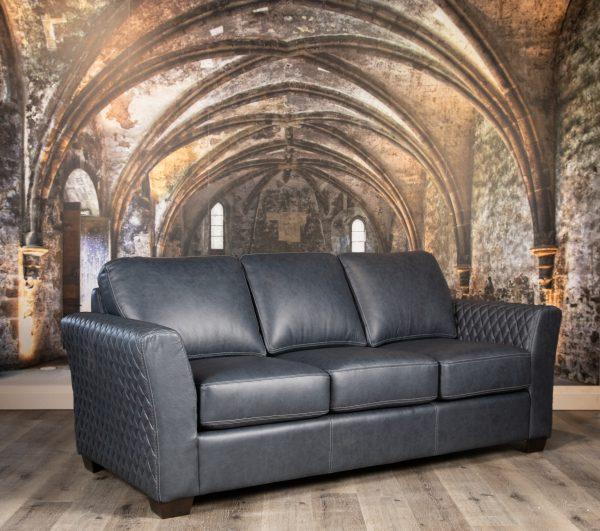 quintessence leather sofas