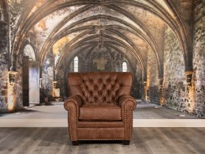 winston churchill leather chairs