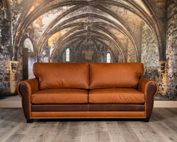 Sir Sheldon leather sofas