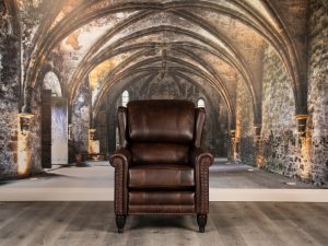 Lord Jameson leather chairs