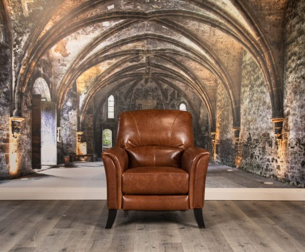 Warhal leather recliner