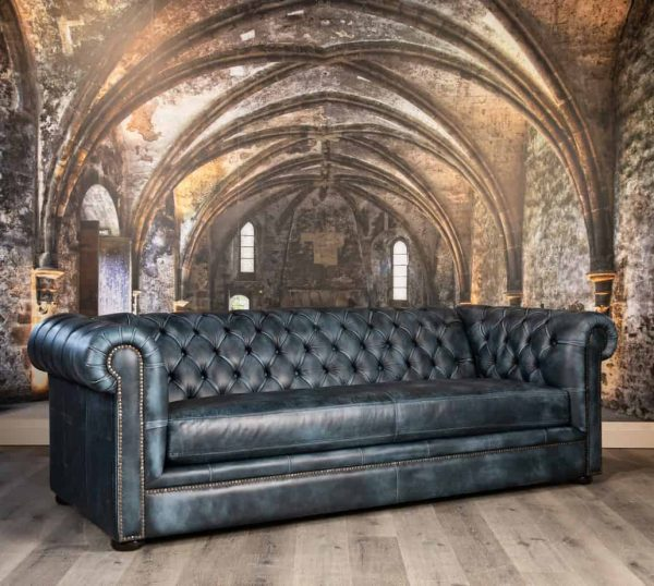 royal windsor tufted leather sofas