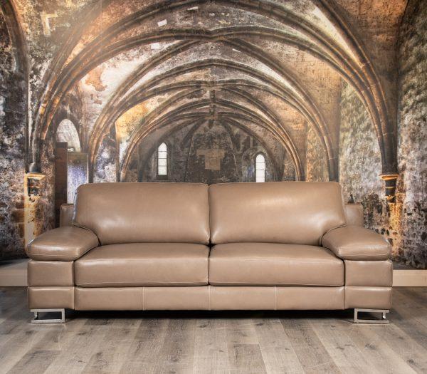 lago azzurri leather sofas